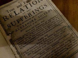Alexander Shields Scottish Covenanter Field Preacher Blue Banner Productions