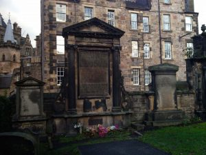 Martyr's Manument Greyfriars's Churchyard Edinburgh Scottish Covenanters